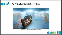 OwlPoint and ITSM Academy Webinar on journey to ITIL 4