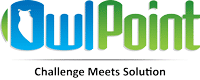 OwlPoint. Logo with Tag Line