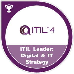 ITIL 4 Leader digital & IT strategy