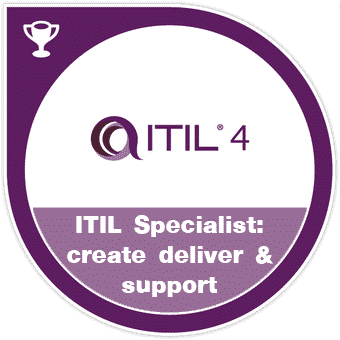 ITIL specialist create, deliver, and support