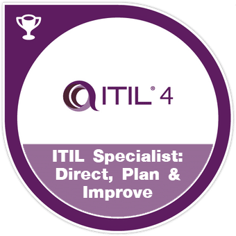 ITIL specialist direct, plan, improve