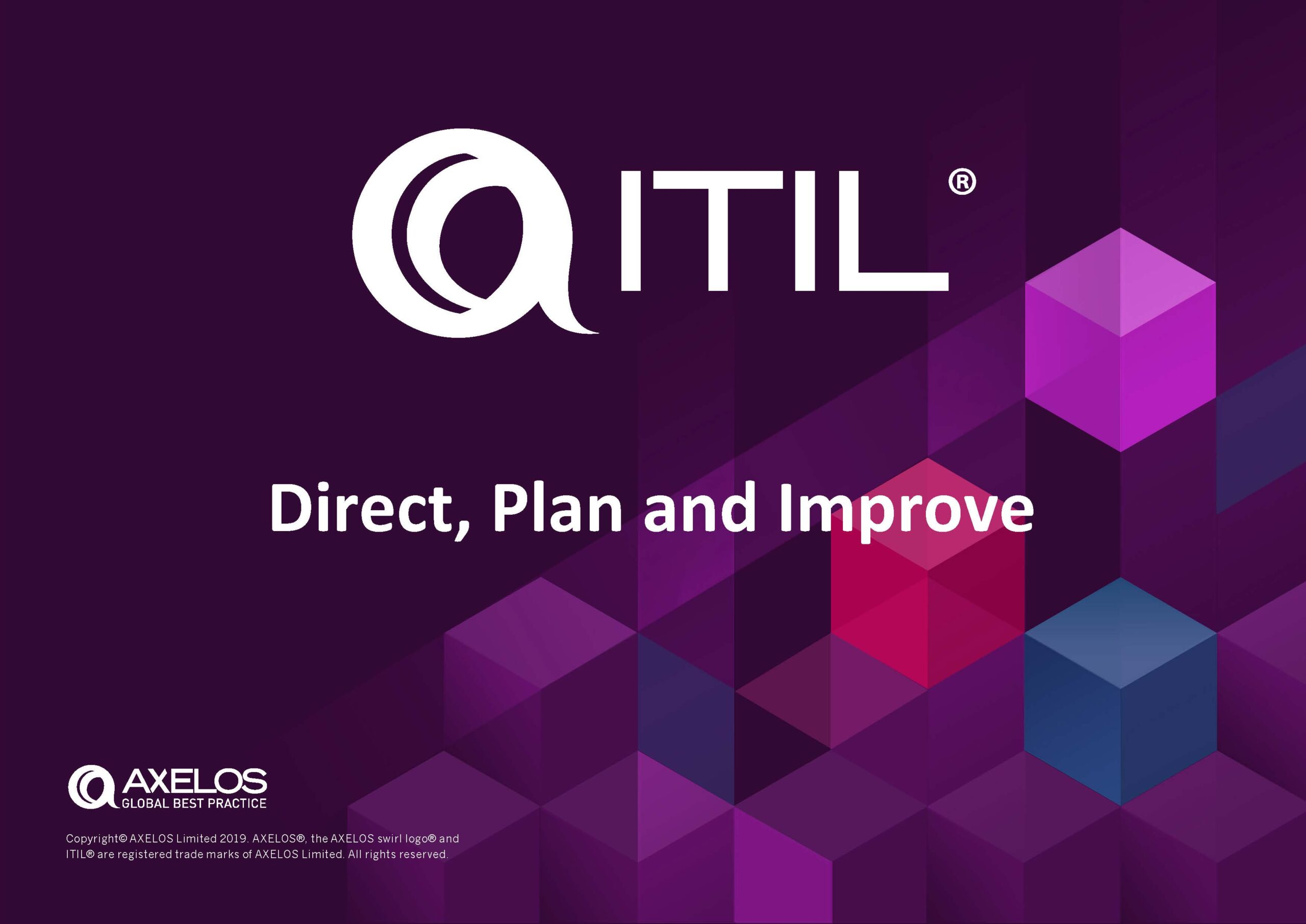 ITIL 4 Direct, Plan and Improve