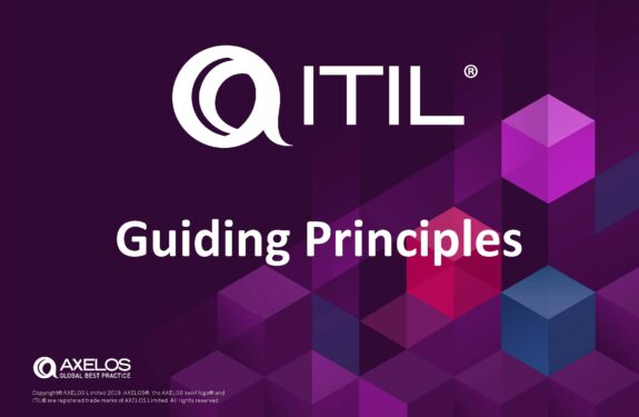 ITIL Guiding Principles