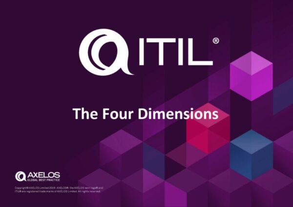 ITIL Four Dimensions