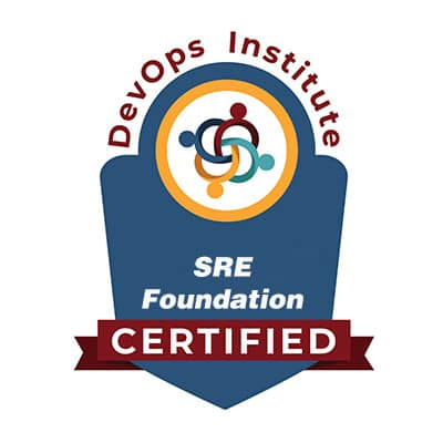 SRE Foundation Certified